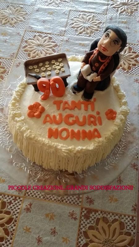 Tutorial torta nonna pasta di zucchero
