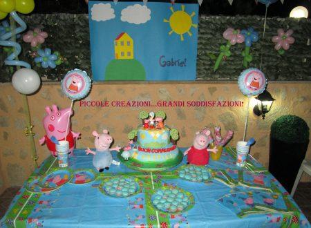 Sweet table Topolino e Peppa Pig