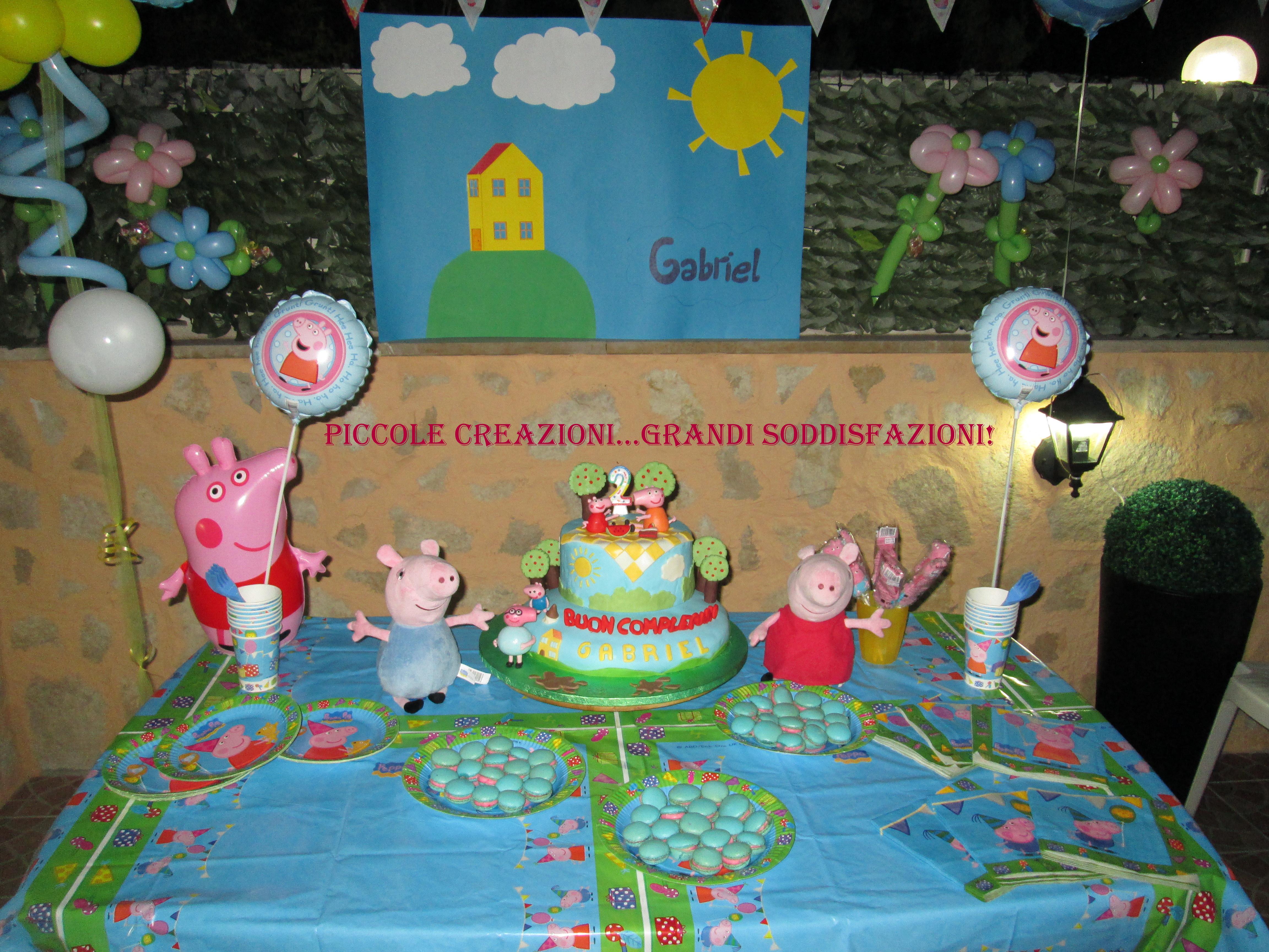 Tavolo Compleanno Topolino : Sweet table topolino e peppa pig piccole creazioni grandi