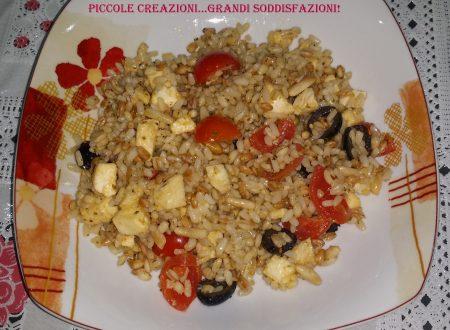 Ricette d'aMARE – Insalata di cereali (Orzo, farro e riso)
