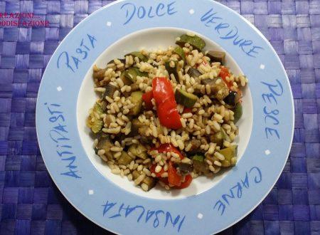 Ricette d'aMARE – Insalata di cereali e verdure (light)
