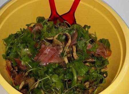 Ricette d'aMARE – Insalata di bresaola e funghi