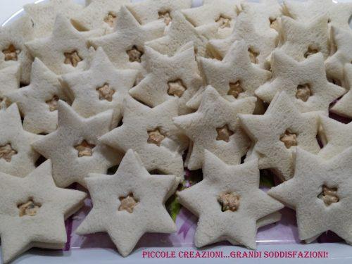 Ricette da buffet – Stelline di pane bianco