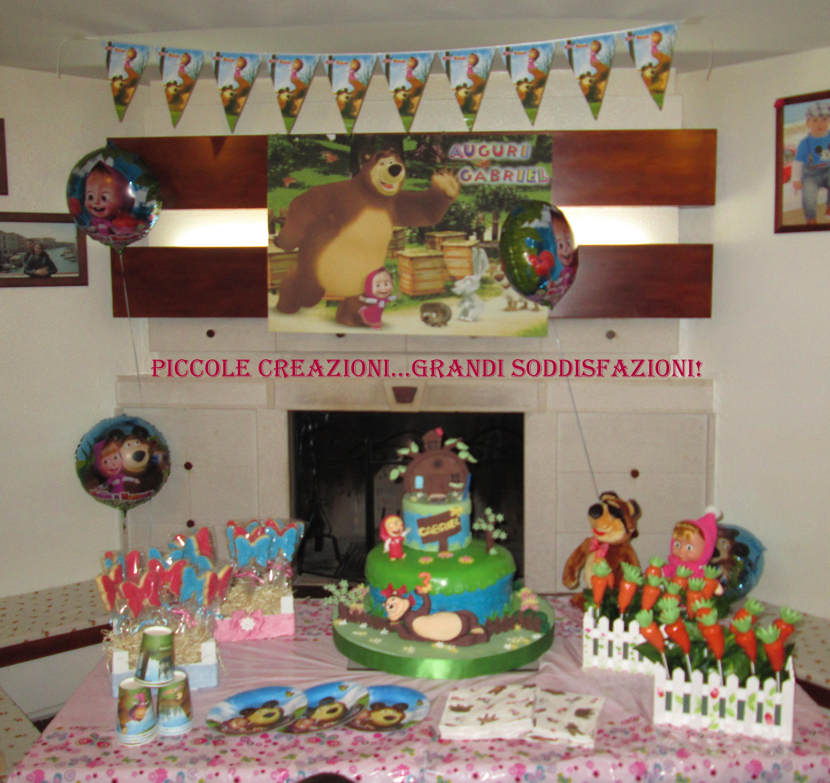 Sweet table di Masha e Orso   consigli e suggerimenti | Piccole