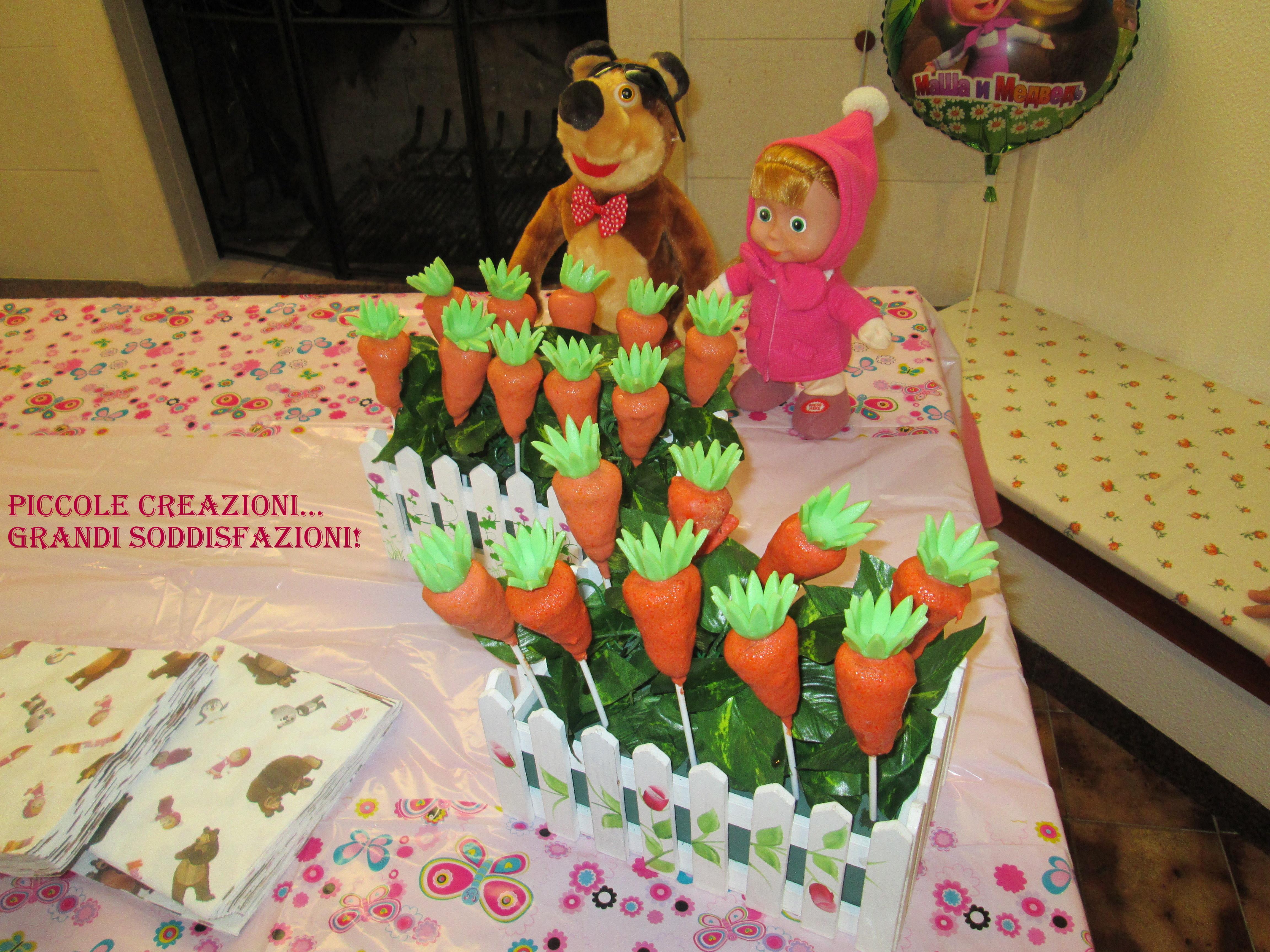sweet table masha e orso