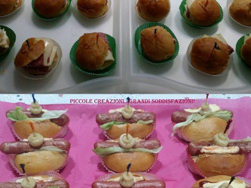 Ricette da buffet – Mini hot-dog e sandwich