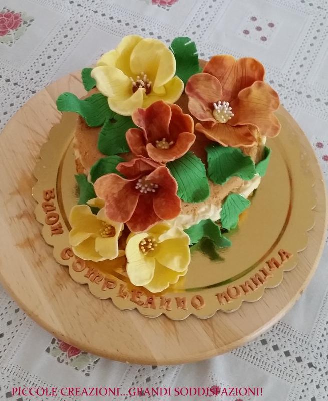tutorial fiori pdz e naked cake