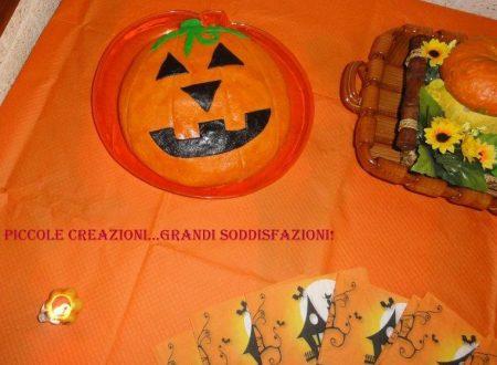 Mudcake per Halloween a forma di zucca