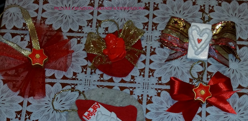 addobbi natalizi gessetti