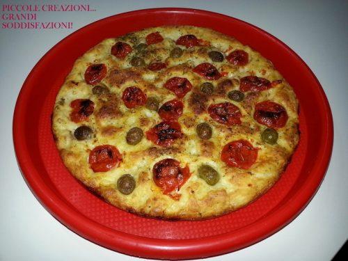 Focaccia Locatelli…buona da mangiare e semplice da preparare!