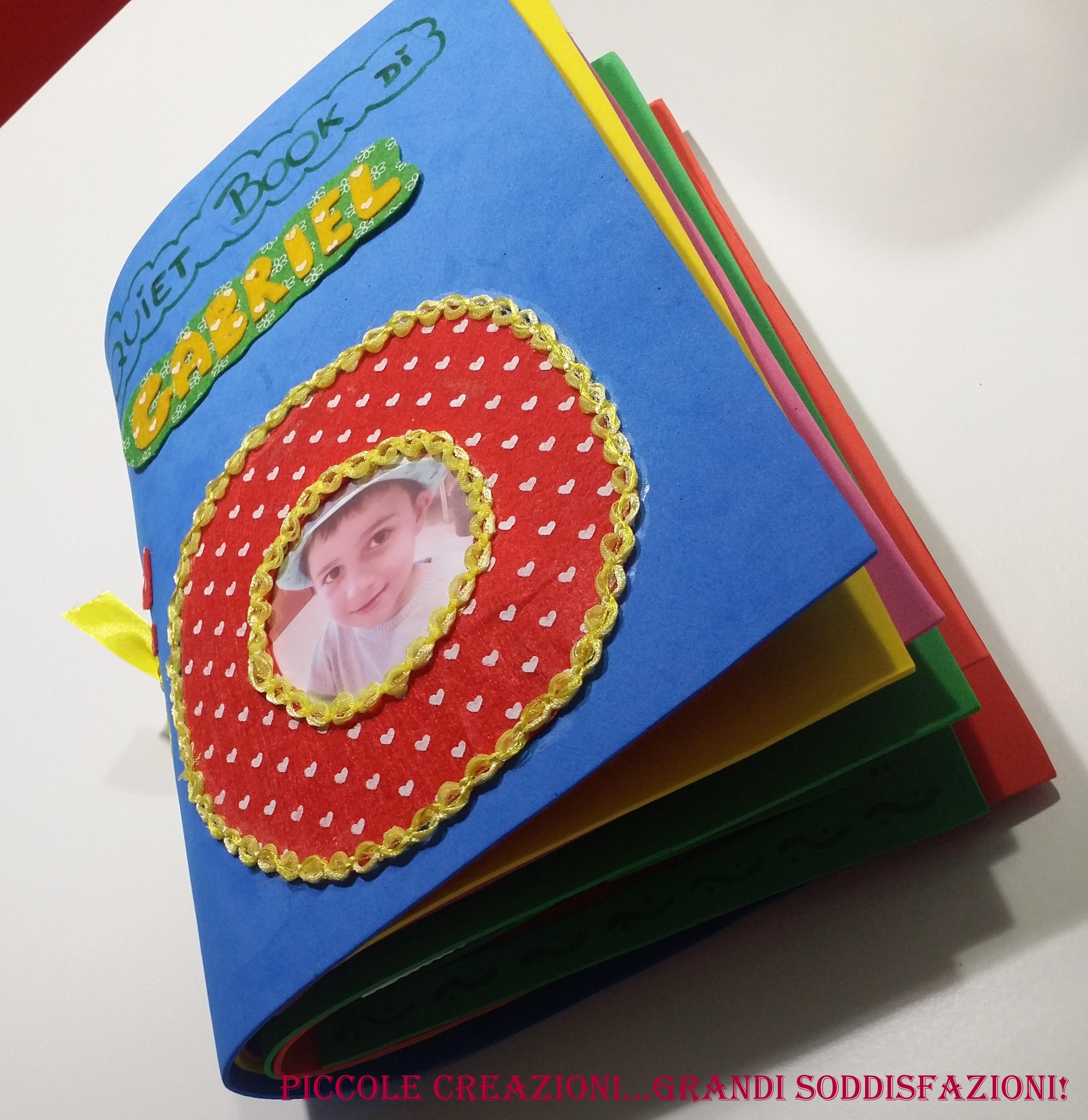 Amato Quiet Book senza cucire - Prima parte tutorial - Copertina e  WV45