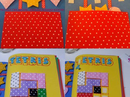 Quiet Book senza cucire – seconda parte – Tris e Tetris