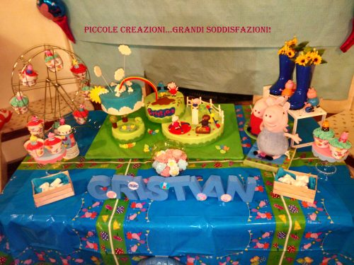 Festa di compleanno a tema Peppa Pig