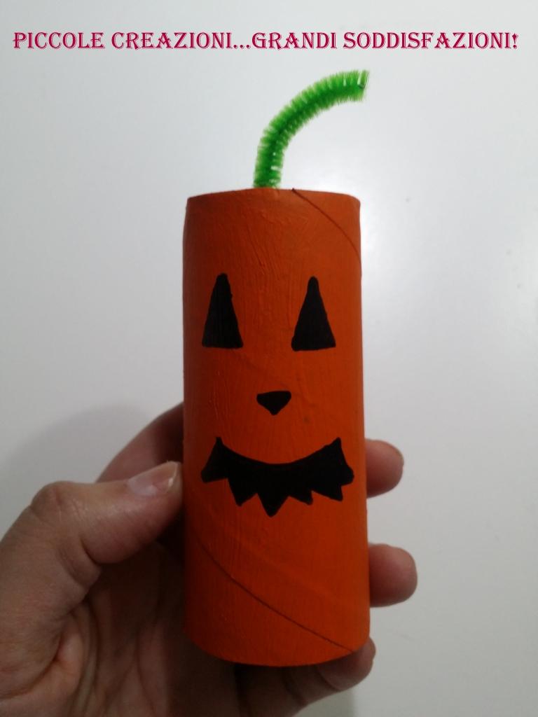 Mostri Di Halloween Con Rotoli Carta Igienica Piccole Creazioni