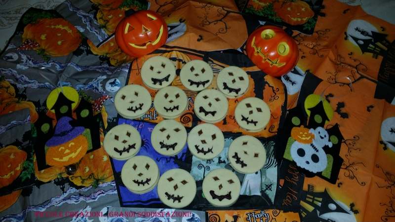 Biscotti di pasta frolla per Halloween