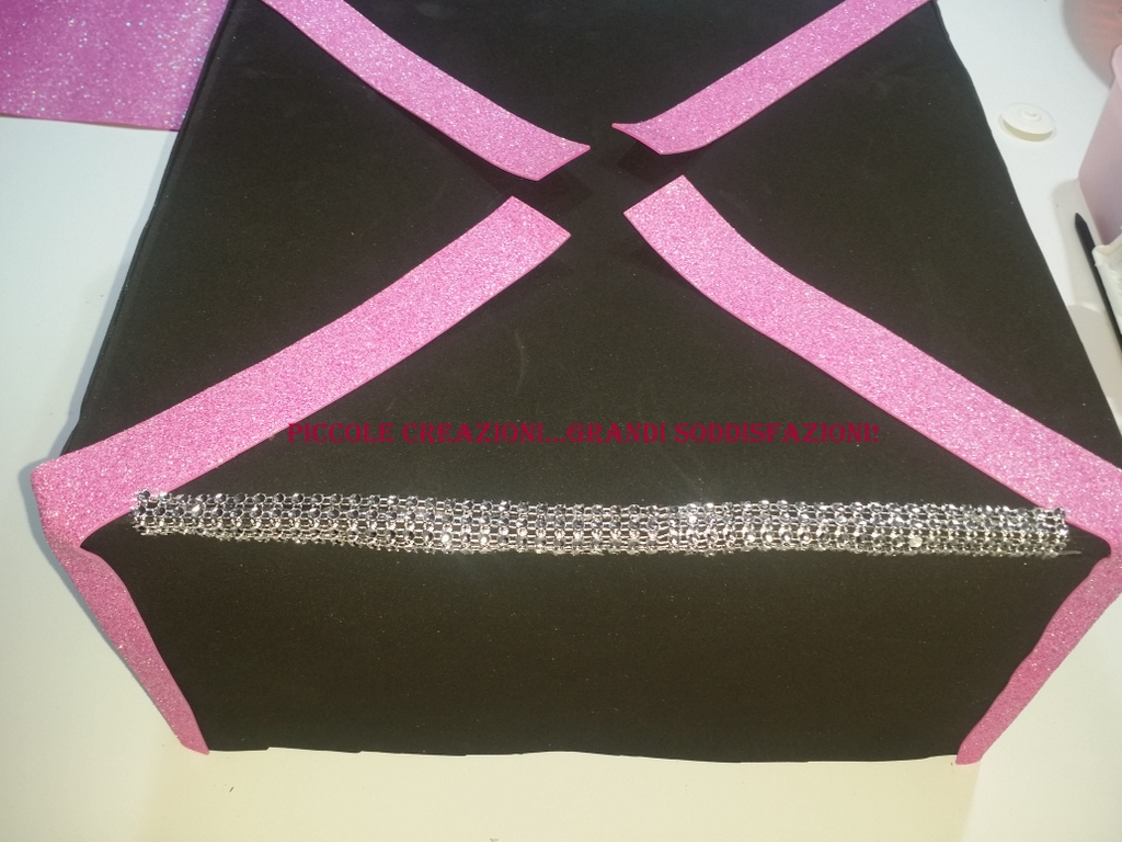 Tutorial della torta pacco regalo