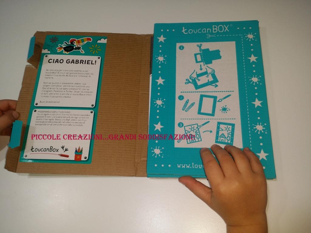 Kit creativo Touchan box