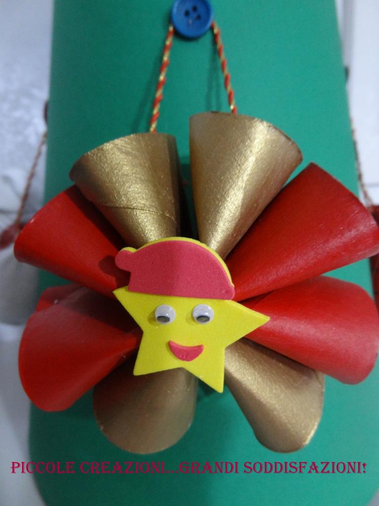 Famoso Stella di Natale con i rotoli della carta igienica | Piccole  NF49