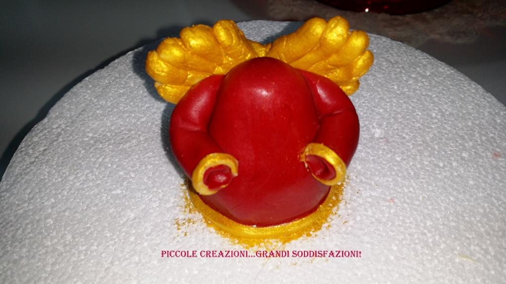 Super Panettone con cake topper angelo Thun natalizio | Piccole  AX05
