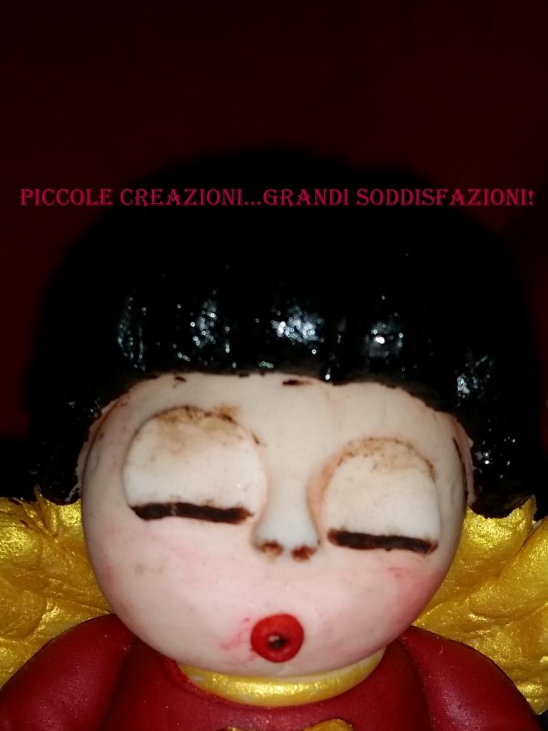 Favoloso Panettone con cake topper angelo Thun natalizio | Piccole  MX91