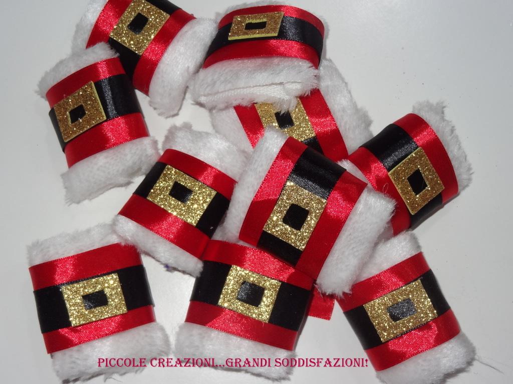 Portatovaglioli segnaposto natalizi