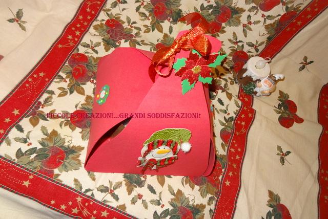 Portapanettone pacco regalo