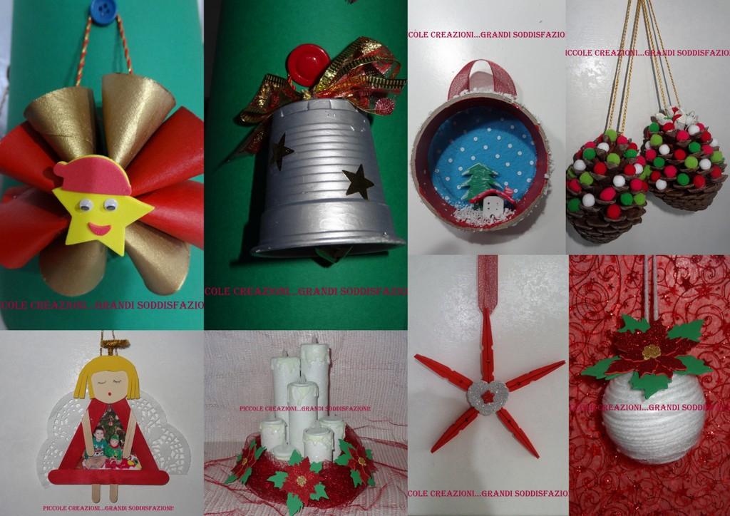 Lavoretti Di Natale Con Riciclo.Raccolta Di Addobbi Natalizi Con Materiali Di Riciclo