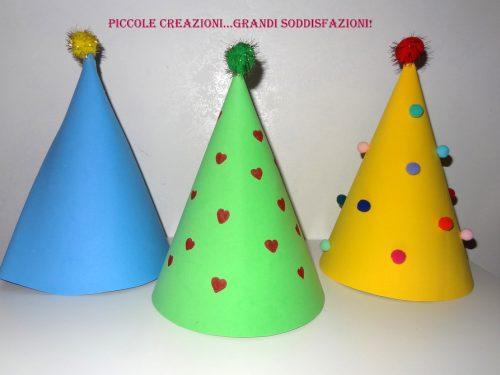 Cappellini di Carnevale fai da te