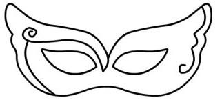 Maschera di pon pon
