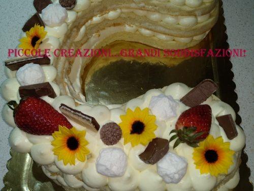 Tutorial fotografico della cream tart