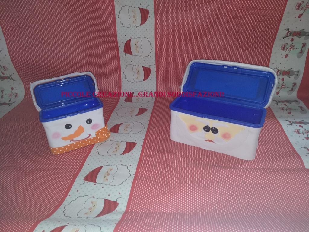 Portacioccolatini natalizi con contenitori ecodosi