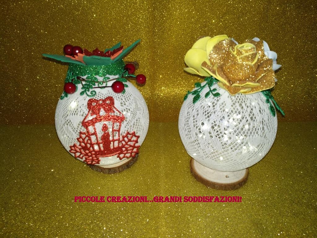 Lampada - palla di Natale