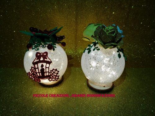 Lampada – palla di Natale