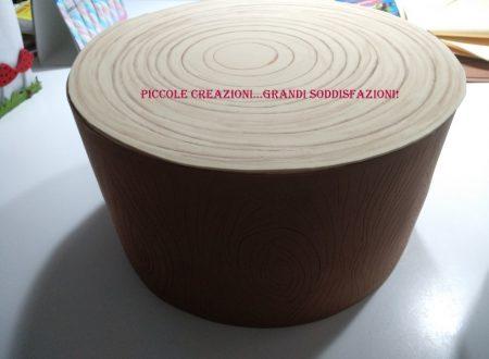 Tronchi di legno finti