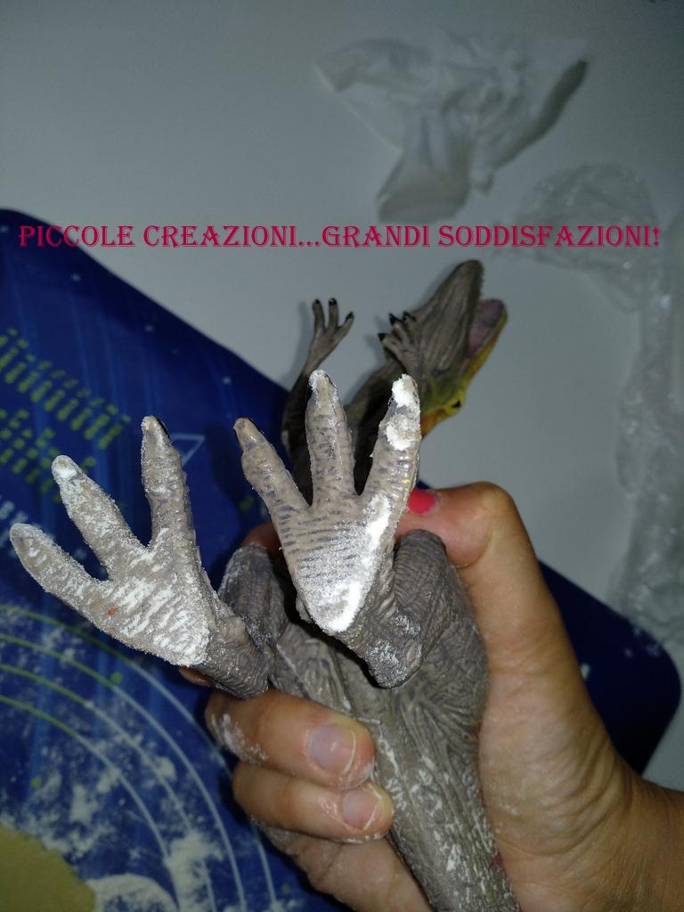 Biscotti-fossili di dinosauri
