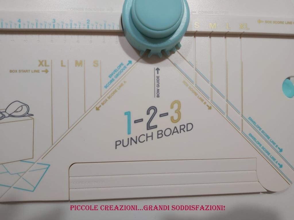 Come fare una scatola con il punch board 1-2-3