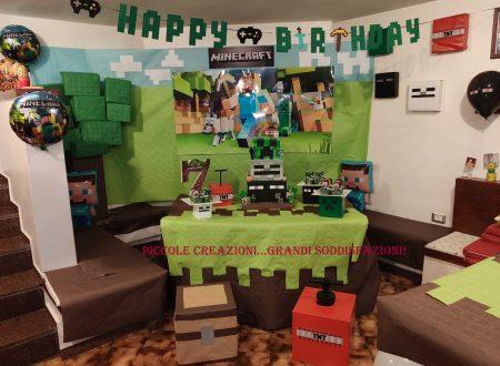 Sweet table di Minecraft