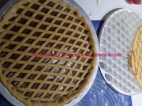 Recensione griglia tagliapasta per crostate con ricetta